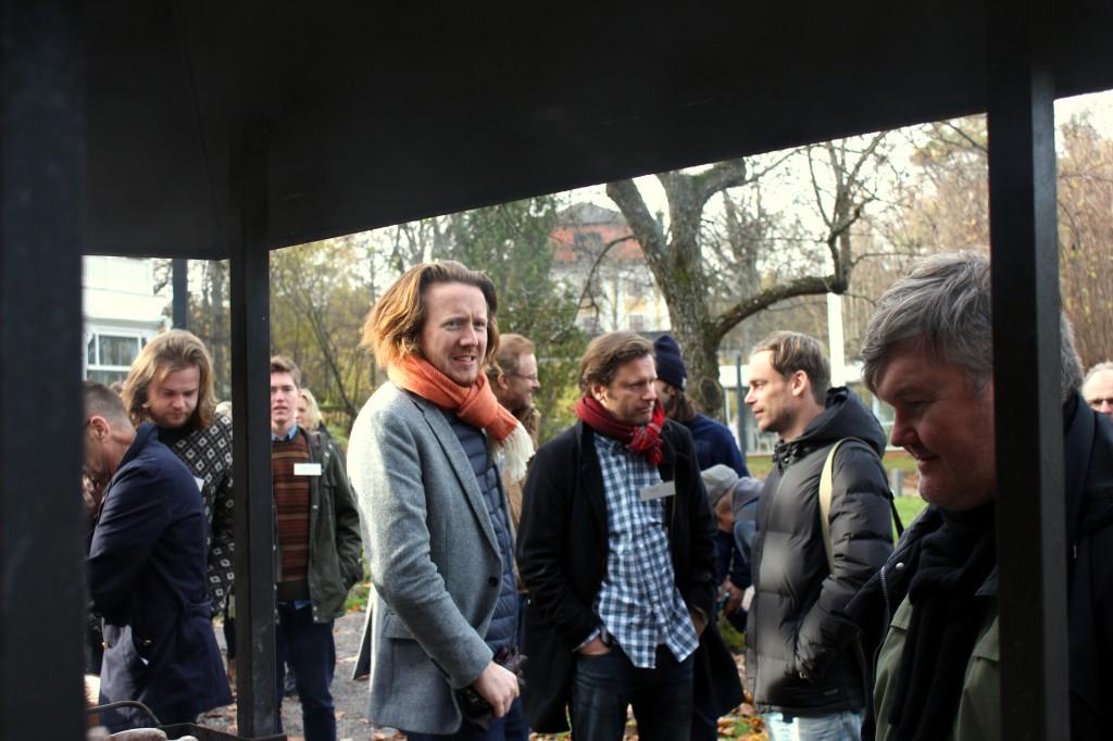 Jag ser Magnus Nilsson, Niklas Ekstedtsmössa, Magnus Eks keps och Mattias Dahlgren.